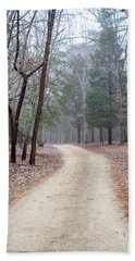 Along The Path Bath Towel