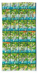 Alphabet Nature - Ivy Hand Towel