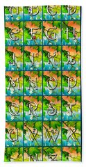 Alphabet Nature - Maple Hand Towel