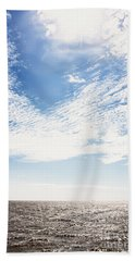 Altocumulus At Sea Bath Towel