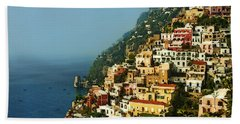 Amalfi Coast Hillside II Bath Towel