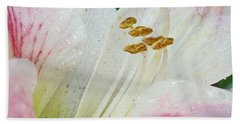 Amaryllis Belladonna Bath Towel
