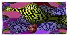 Mandelbrot Maze Hand Towel