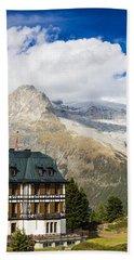 Amazing Villa Cassel In The Swiss Alps Switzerland Bath Towel by Matthias Hauser