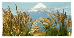 Amber Waves Of Osorno Hand Towel