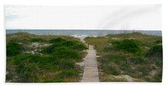 Amelia Island Beach Hand Towel