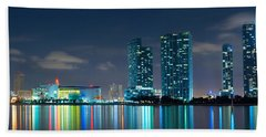 American Airlines Arena And Condominiums Hand Towel