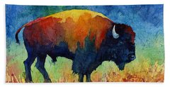 American Buffalo II Bath Towel