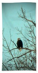 American Eagle Bath Towel by Desiree Paquette