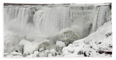 Bath Towel featuring the photograph American Falls by JT Lewis