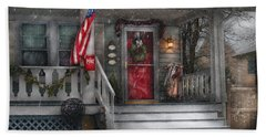 Americana - A Tribute To Rockwell - Westfield Nj Bath Towel