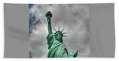 America's Lady Liberty Bath Towel