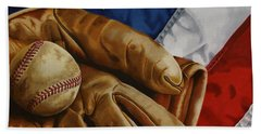 America's Pastime Hand Towel