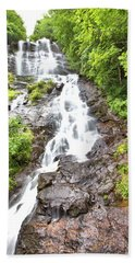 Amicalola Falls Bath Towel by Gordon Elwell