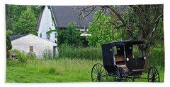 Amish Way Of Life Hand Towel