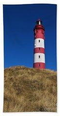 Amrum Lighthouse Bath Towel
