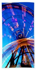 Amusement Park Rides 1 Hand Towel