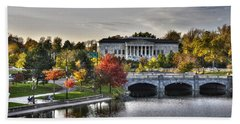 An Autumn Day At Hoyt Lake...dusk Oct2014 Bath Towel