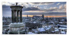 An Edinburgh Winter Hand Towel