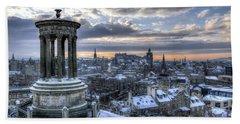 An Edinburgh Winter Bath Towel