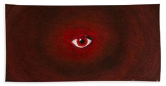 An Eye Is Upon You Bath Towel