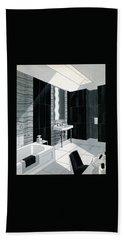 An Illustration Of A Bathroom Bath Towel