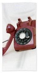 An Old Telephone Bath Towel