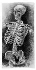 Anatomy Study Mister Skeleton Hand Towel