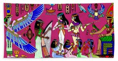 Ancient Egypt Splendor Hand Towel