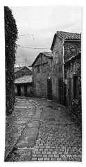 Ancient Street In Tui Bw Hand Towel