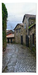 Ancient Street In Tui Hand Towel