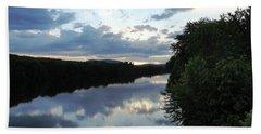 Androscoggin River Reflections Bath Towel