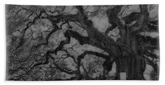 Angel Oak B And W Hand Towel