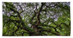 Angel Oak Tree Hand Towel