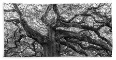 Angel Oak Tree Bath Towel