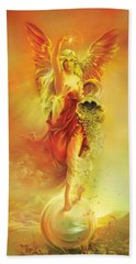 Angel Of Abundance - Fortuna Bath Towel