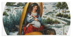 Angel Of Peace Bath Towel