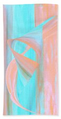 Hand Towel featuring the digital art Angelfish by Stephanie Grant