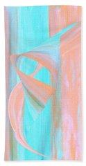 Bath Towel featuring the digital art Angelfish by Stephanie Grant