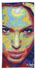 Angelina Hand Towel by Maria Arango