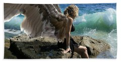 Angels- I'm Watching Over You Hand Towel