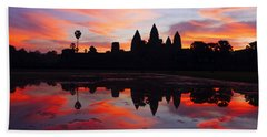 Angkor Wat Sunrise Bath Towel