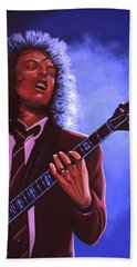 Angus Young Of Ac / Dc Hand Towel