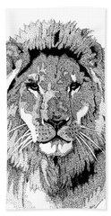 Animal Prints - Proud Lion - By Sharon Cummings Hand Towel
