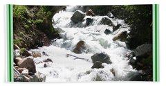 Animas River Southern Colorado Bath Towel
