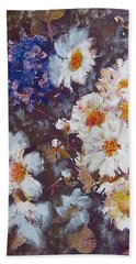 Another Cluster Of Daisies Hand Towel by Richard James Digance