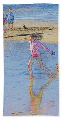 Another Day At The Beach Hand Towel