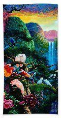 Another Day In Paradise - Digital 2 Bath Towel