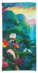 Another Day In Paradise Hand Towel