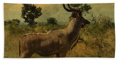 Antelope Hand Towel by EricaMaxine  Price